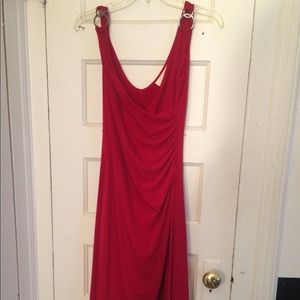 Red Cocktail Prom Dress